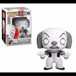 Funko Pop! IT Pennywise Black and White RICC 2018